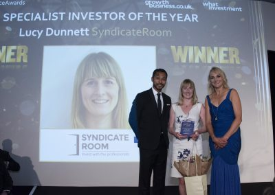 Specialist Investor of the Year - Lucy Dunnett, SydicateRoom
