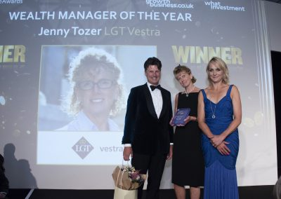 Wealth Manager of the Year - Jenny Tozer, LGT Vestra