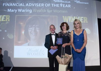 Financial Adviser of the Year - Mary Waring, LGT Vestra