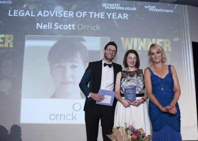 Legal Adviser of the Year - Nell Scott, Orrick