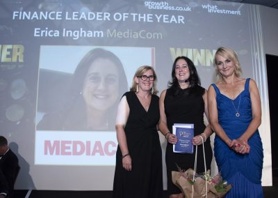 Finance Leader of the Year - Erica Ingham, MediaCom