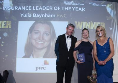 Insurance Leader of the Year - Yulia Baynham, PwC