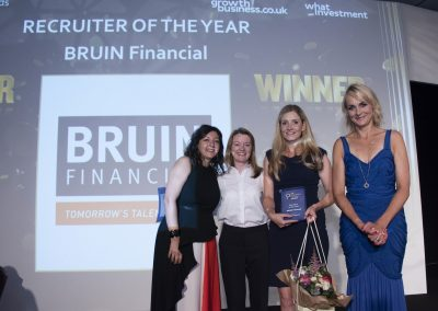 Recruiter of the Year - BRUIN Financial