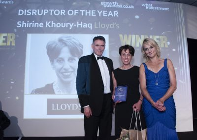 Disruptor of the Year - Shirine Khoury-Haq, Lloyds