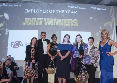 Employer of the Year - (Joint Winners) RBS and Financial Conduct Authority