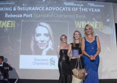 Banking and Insurance Advocate of the Year - Rebecca Port, Standard Chartered Bank