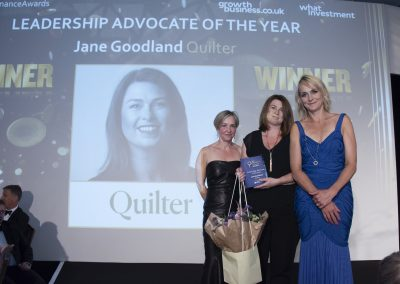 Leadership Advocate of the Year - Jane Goodland, Quilter