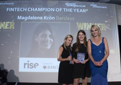 FinTech Champion of the Year - Magdalena Krön,  Barclays