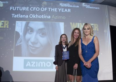 Future CFO of the Year - Tatiana Okhotina, Azimo